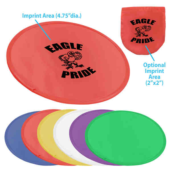 Foldable flying disc with