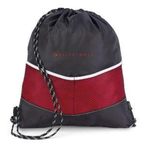 Red - Drawstring sack