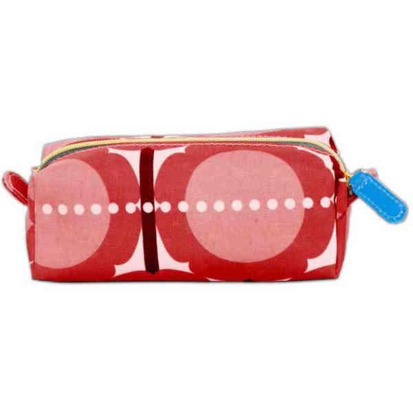 Cosmetic pouch made with