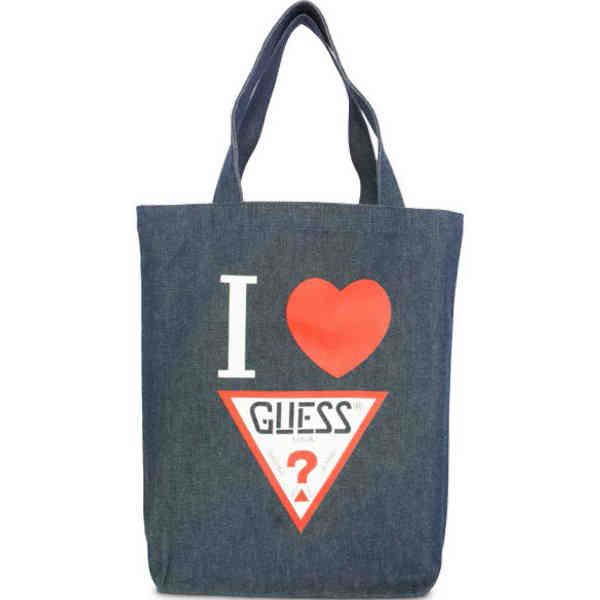 Tote made from denim