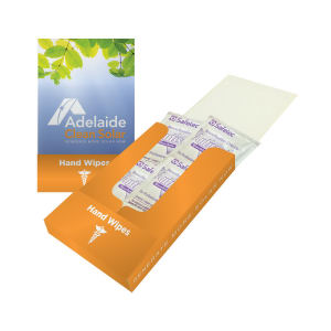Hand wipes pocket kit