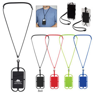 Silicone Lanyard With Phone