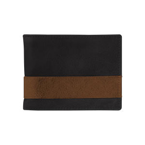 Full grain two-tone leather