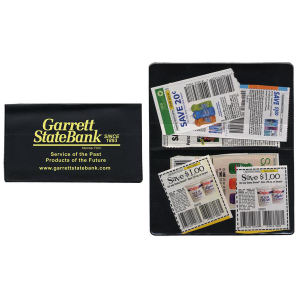 4-pocket coupon cases.