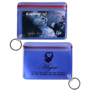 Waterproof wallets with key