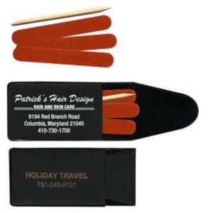 Pocket nail file kits