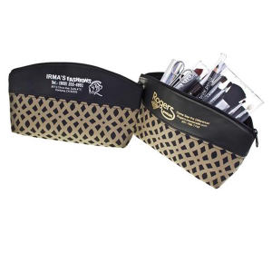 Cosmetic bag with extra