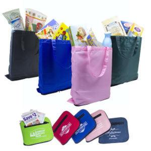 Folding shopping bag in