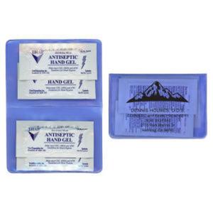 Hand sanitizer gel kit