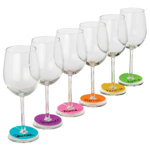 Neon Party Wine Glass