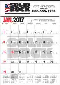Promotional Contractor Calendars-647