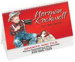 Rockwell desk calendar with