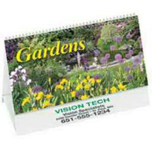 Gardens - Desk calendar