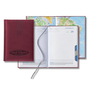 Mid-size dated daily planner