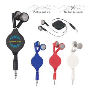 Retractable Ear Buds.