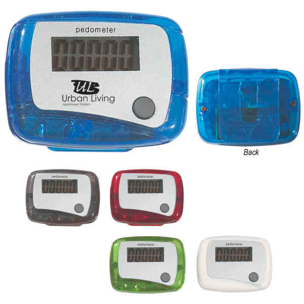 Pedometer with single function