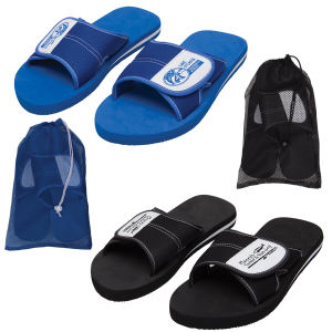 Adjustable flip flops, with