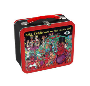 Lunch Box Tin, Custom