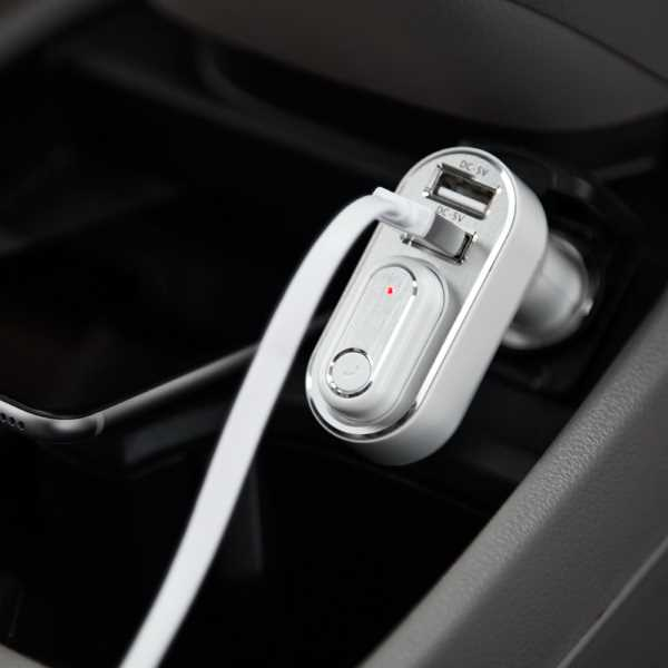 2-in-1 USB Car Charger