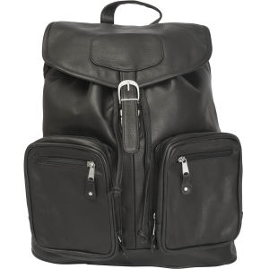 Computer backpack with large