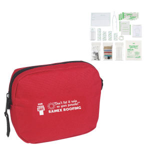 First aid kit in