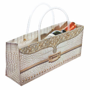 Ivory Gator Purse Horizontal