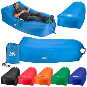 Inflatable lazy bag.