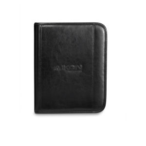 Deluxe leather wired e-padfolio