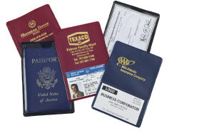 Insurance card holder with