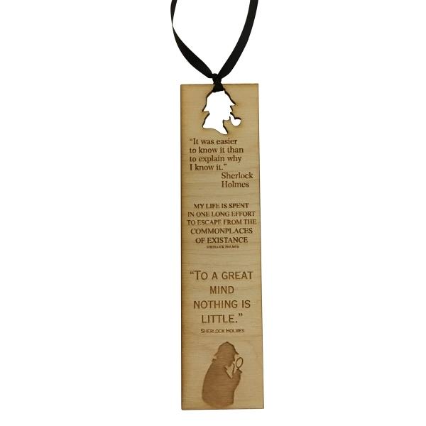 Custom laser engraved bookmarks