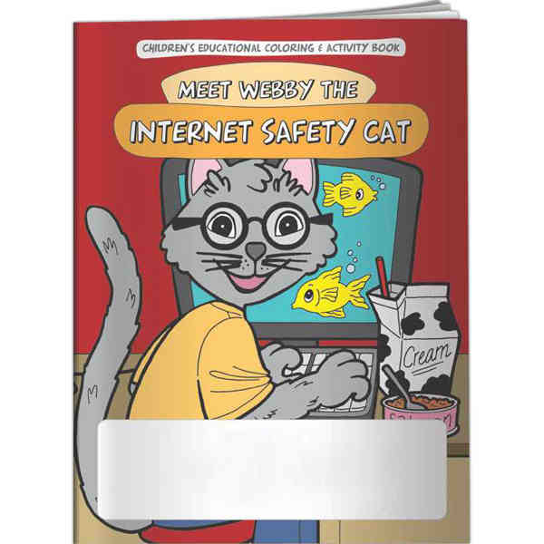 Educational internet safety coloring