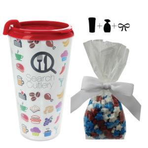 Promotional Plastic Cups-T-MUG-STARS