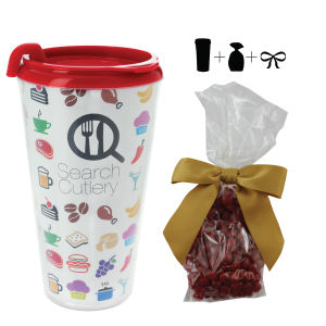 Promotional Plastic Cups-T-MUG-RED HOTS