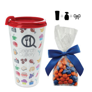 Promotional Travel Necessities-T-MUG-CHOC