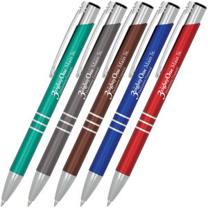 Triple Satin Click Pen
