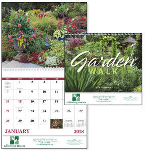Spiral garden walk lifestyle