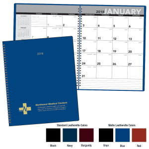 2018 monthly planner with
