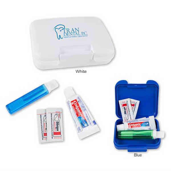Dental kit with toothbrush,