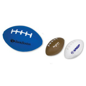 Football-shaped stress reliever