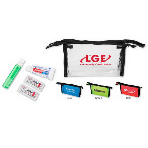 Dental hygiene travel kit