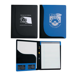 Padfolio with inside pocket