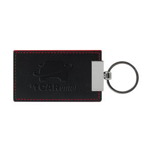 Promotional Leather Key Tags-VAND002