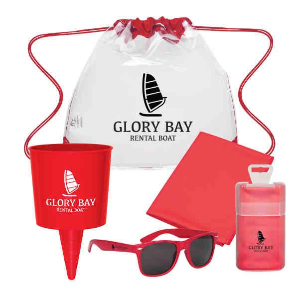 Beach-Nik, sunglasses, and an