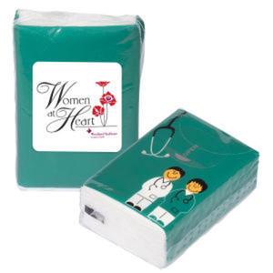 Pocket sized tissue pack