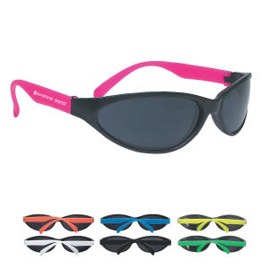 Rubberized sunglasses with UV400