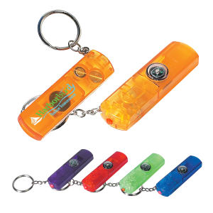 Key chain with whistle,