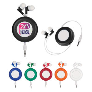 Retro Retractable Ear Buds.