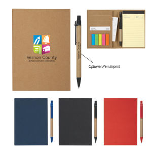 MeetingMate Notebook With Pen