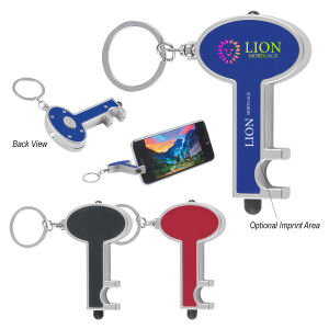 Promotional Plastic Keychains-141