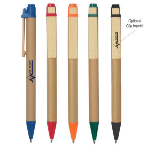 Eco-friendly pen with paper